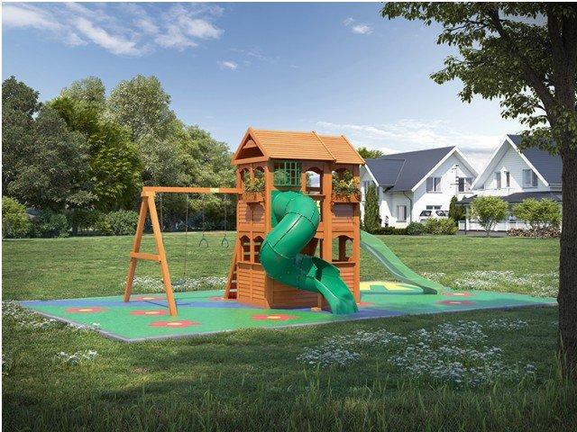 Детские игровые комплексы Детская деревянная площадка IgraGrad Fast