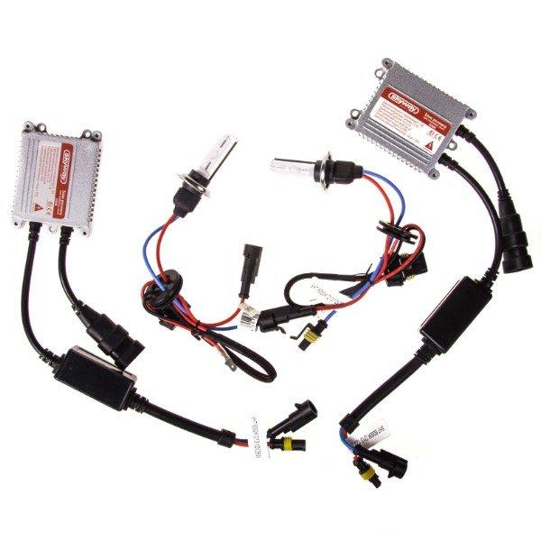 Автолампа ксенон H7 12V 35W 6000K SKYWAY комплект 2 шт + провод+блок розжига ближний свет