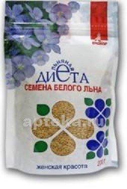 Льна белого семена женская красота 200,0