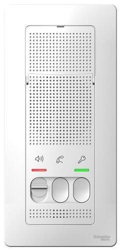 Переговорное устройство Schneider Electric BLNDA000011 Blanca (Домофон), 4,5В (белый)