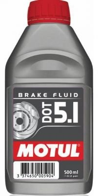 Тормозная жидкость Motul DOT 5.1 BRAKE FLUID 0.5л (100950)