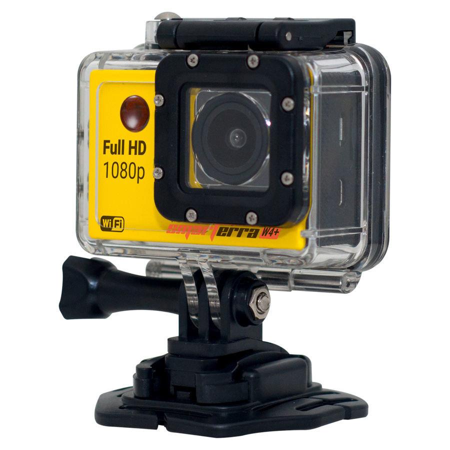 Экшн-камера SMARTERRA W4+ 1080p, желтый [bsw4p1016]