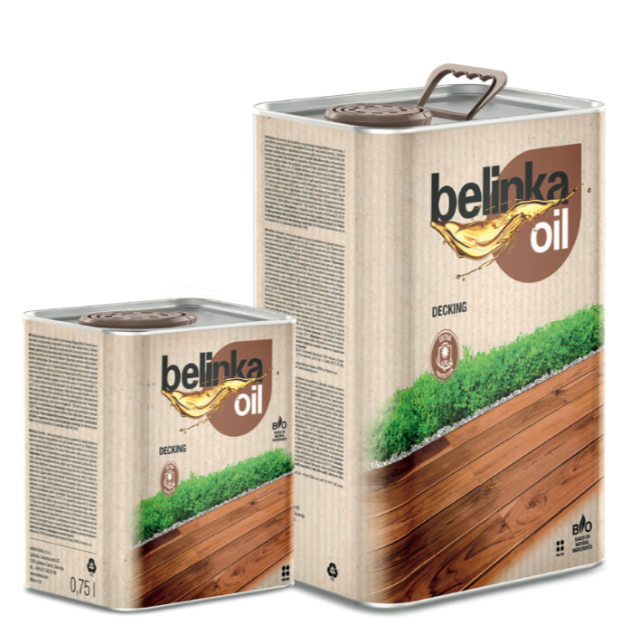 , 2.5 л. - Масло Belinka Oil Decking предназначено для защиты и ухода за наружным деревянным настилом и садовой мебелью. цвет 201 натуральный