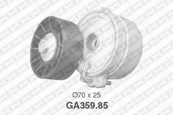 Ролик натяжной с механизмом натяжения peugeot 307/406/607/807 2.0/2.2hdi 00 Snr GA35985