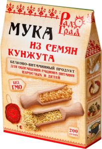 """Мука кунжутная РадоГрад"""" 200 гр"""