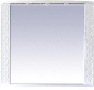 Misty Зеркало Valencia Л-Вал03100-011, белое