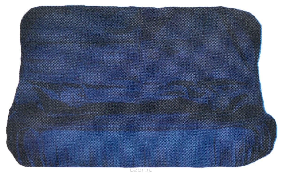 """Чехол грязезащитный универсальный на заднее сиденье """"Tplus"""", цельный, с мешком для хранения, цвет: синий, 140 х 110 см"""