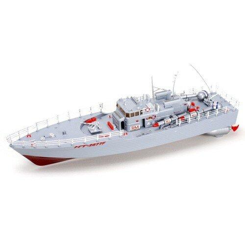 Радиоуправляемый катер электро Heng Tai Speed Battle Ship 1:20 - 2877F
