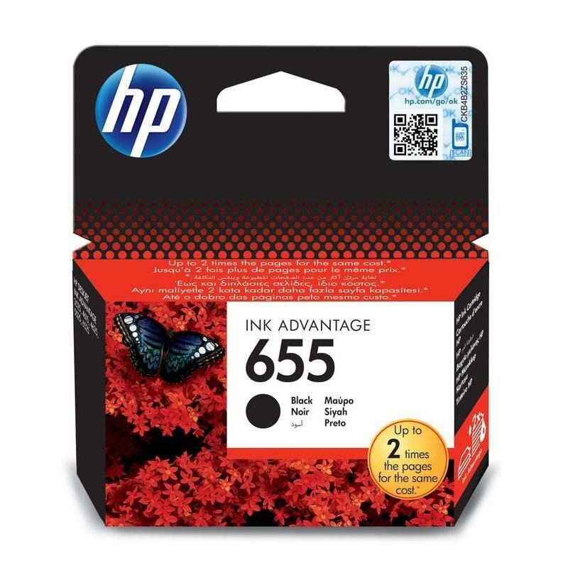 Струйный картридж HP CZ109AE (655) (black)