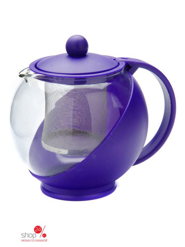 Чайник заварочный, 750 мл Mayer&Boch, цвет фиолетовый, 257382