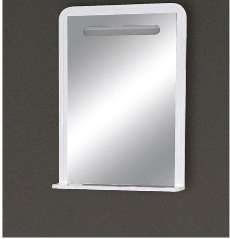 Misty Зеркало с полочкой Камилла П-Кмл03065-011, белая эмаль