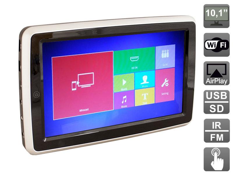 """Навесной монитор на подголовник с диагональю 10.1"""", со встроенным Full HD медиаплеером, AirPlay, Miracast и HDMI AVIS AVS1088TM"""