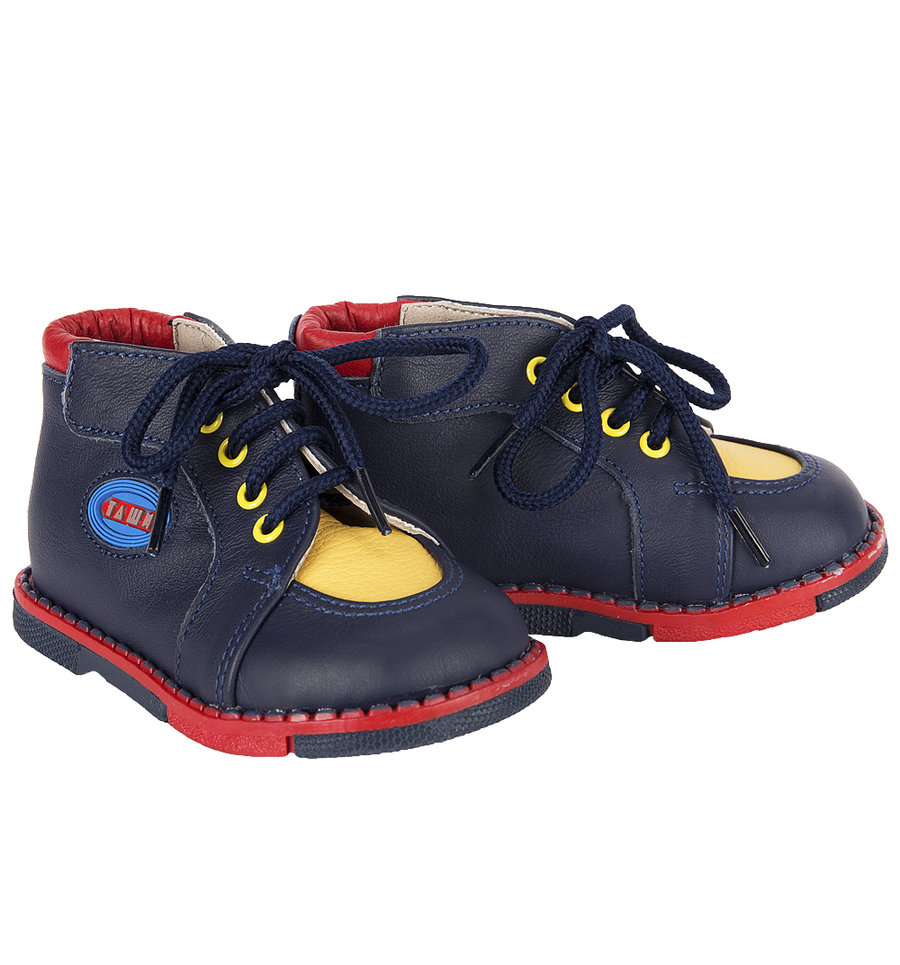 Ботинки Таши Орто цвет: синий