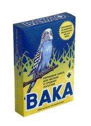 Вака Вака+ Корм для мелких и средних попугаев 500г