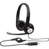 Logitech Stereo Headset H390, USB (981-000406)