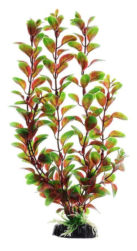 Растение для аквариума пластиковое Людвигия красная, Barbus, Plant 006 (50 см)