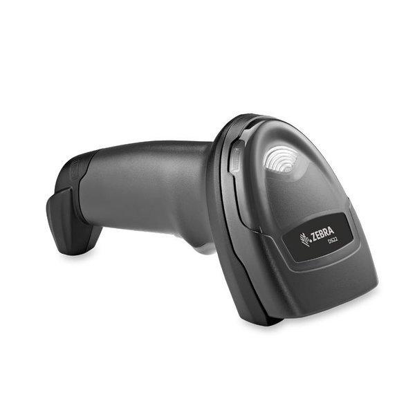 Ручной сканер штрих-кода Zebra (Motorola) DS2208 [USB, чёрный, без подставки, 2D/ЕГАИС]