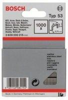 1000 скрепки 8MM Т53. Нержавеющая сталь 2609200215 Bosch