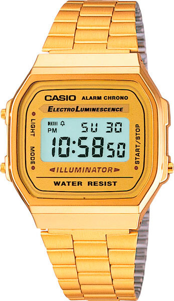 Японские наручные часы Casio A-168WG-9