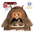GiGwi домик «Сова» для кошек и маленьких собак 40*45 см. арт. 280.75061