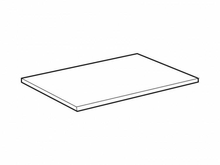 Полка короткая для навесных корпусов 80*29 (1 шт.)