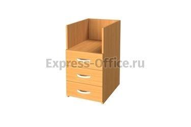 Алсав Офисная мебель Эконом Тумба приставная без топа 3Т.002 390x500x750