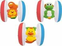Интерактивная игрушка Kiddieland Забавная вертушка с животными от 6 месяцев разноцветный kid047761