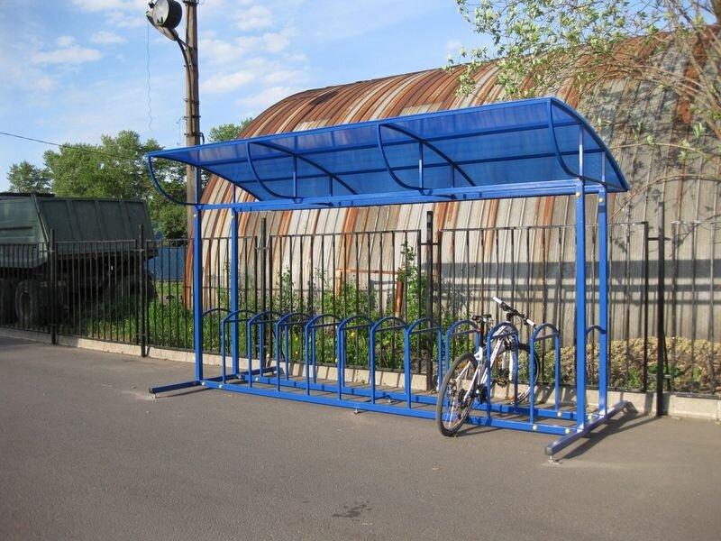 Велопарковка урбан с навесом