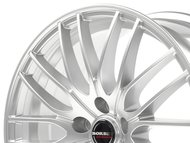 Колесные литые диски Borbet CW 4/5 Hyper Silver 8x18 5x120 ET45 D72.5 Sterling Silver (221322) - фото 1