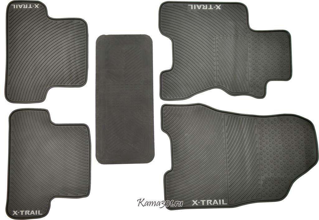 Комплект ковриков NISSAN-X-TRAIL латексный ПВХ