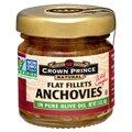Crown Prince Natural Анчоусы плоское филе в чистом оливковом масле 15 унции (43 г)