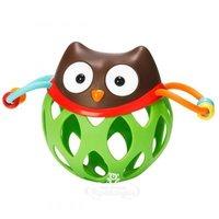 Skip Hop Мяч-погремушка Сова Отис с прорезывателем, 16.5 см SH 303100