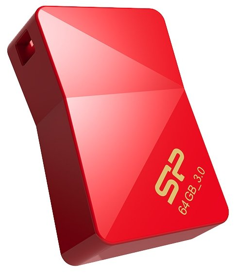Флешка Silicon Power Jewel J08 64GB red