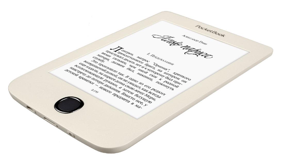 Электронная книга PocketBook 615 Plus Beige + Книги