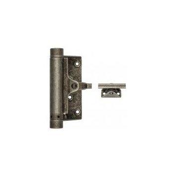 Дверные доводчики Aldeghi Luigi 115FA003 Доводчик дверной стальной пружинный до 60кг aldeghi (125x300мм) античное серебро