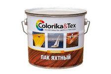 Лак яхтный Colorika&Tex глянцевый 0.8кг