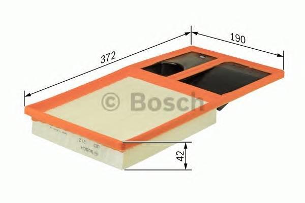 Воздушный фильтр Bosch F026400035 вставка