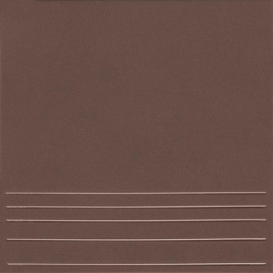 Ступени Керамин Клинкерная плитка Амстердам 4 коричневый ступени