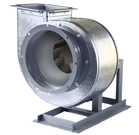 Вентилятор радиальный ДУ 80-75 № 2.5/0,18кВт/1500 об.мин./400°C*2