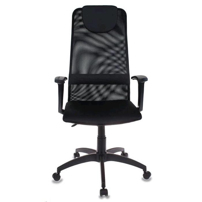 Кресло руководителя Бюрократ KB-8/Black чёрный TW-01/TW-11 сетка