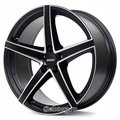 Диск Alutec Raptr 8.5x20/5x120 D72.6 ET35 Racing Black Front Polished - фото 1