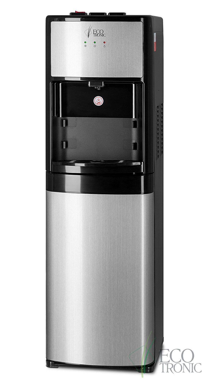 Кулер для воды Ecotronic M9-LXE напольный с нижней загрузкой и электронным охлаждением