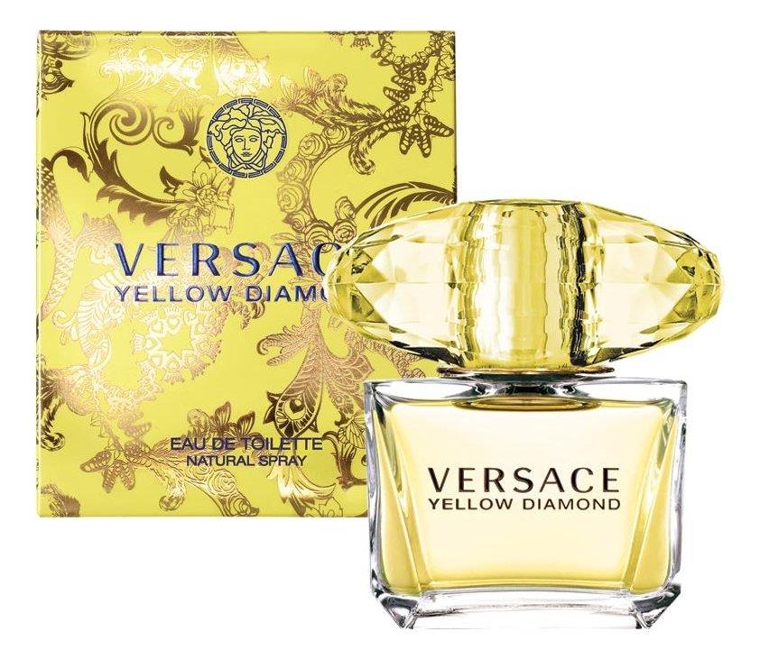 Туалетная вода Versace Yellow Diamond для женщин 90 мл.