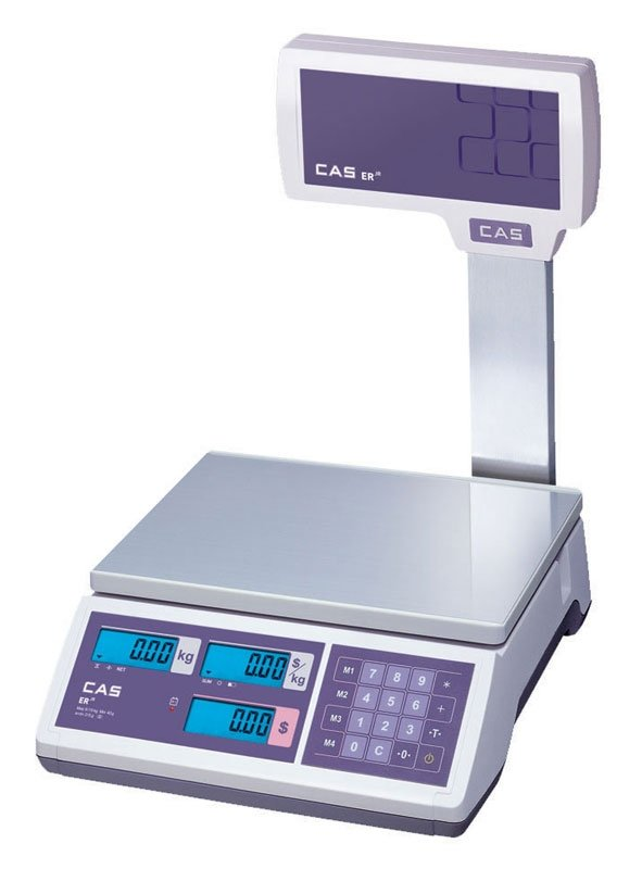 Весы торговые CAS ER-JR-30CBU