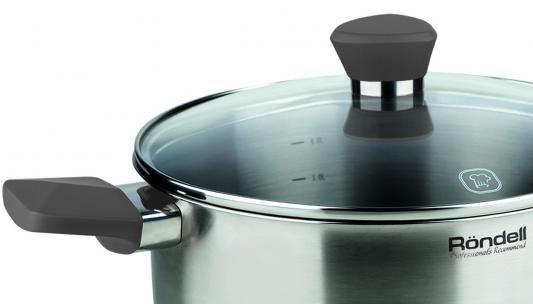 Набор посуды Rondell rds-819 strike кастрюля 20 ковш 16