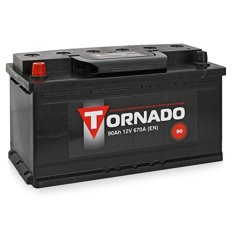Аккумулятор TORNADO 6 СТ-90 АЗ п/п.