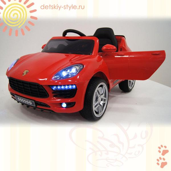 Электромобиль RiverToys Porsche Macan О005ОО