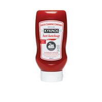 Кетчуп томатный острый KYKNOS 580г