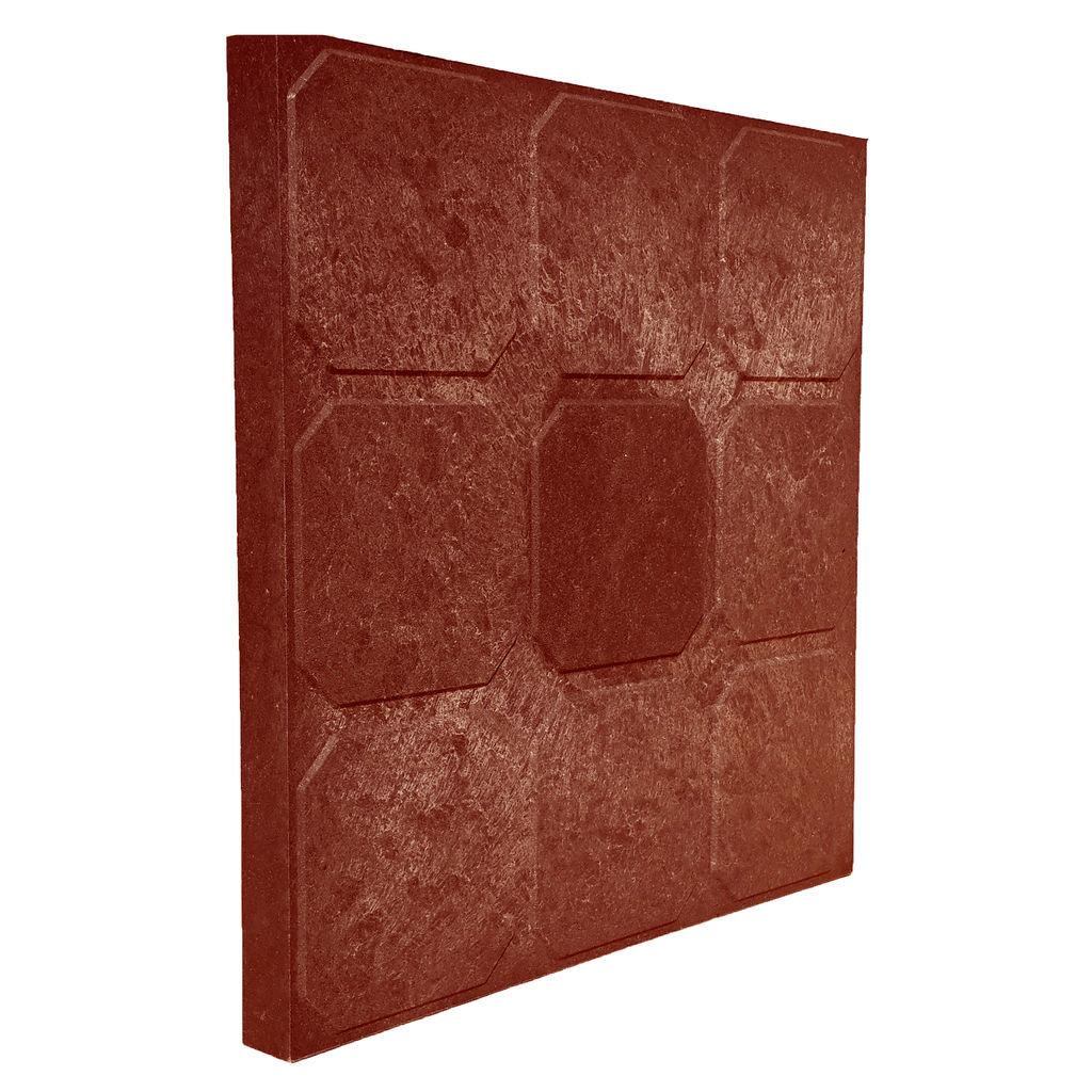 Laatta Плитка тротуарная лаатта красно-коричневая