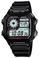 Наручные электронные часы CASIO AE-1200WH-1A